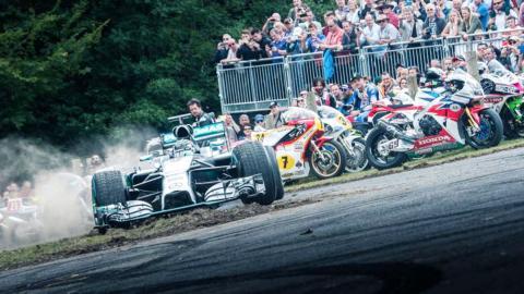Los mejores tiempos del Goodwood Festival of Speed