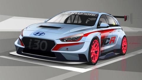 Hyundai i30 N TCR compacto deportivo competición carreras