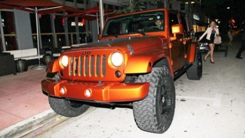 Jeep Wrangler Limited de James