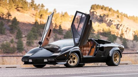 Lamborghini Countach LP400 S deportivo clásico
