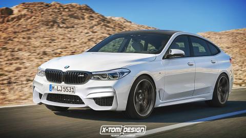 El BMW M6 GT de X-Tomi