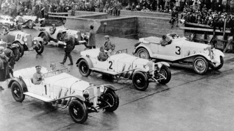 Mercedes Model S en Nürburgring