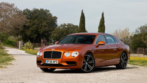 Prueba Bentley Flying Spur V8 S lujo berlina limusina