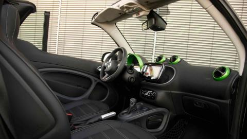 Smart Fortwo Electric Drive Brabus, asientos