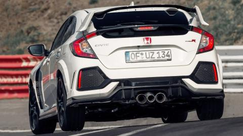 Rivales del Ford Focus RS - Honda Civic Type R 2017
