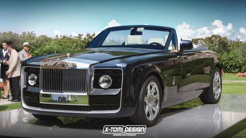 Rolls-Royce Sweptail descapotable