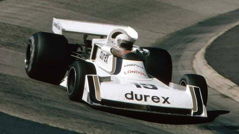 El TS19 del Surtees Team 1976-1978 Durex Alain Jones