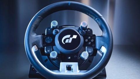 El volante T-GT para la PS4