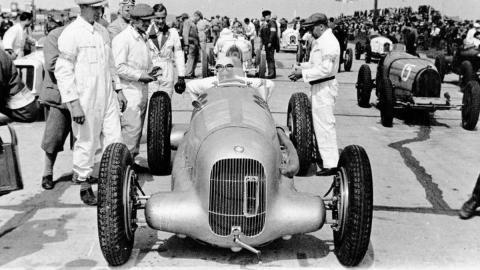 1934 Mercedes w25