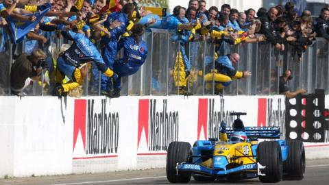 Alonso en Hungría 2003