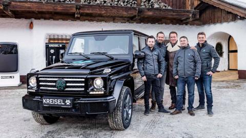 Arnold y los colegas de Kreisel y su Clase-G