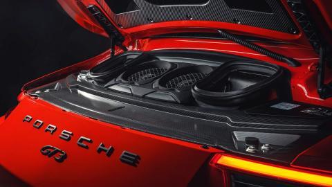 Así es el motor del Porsche 911 GT3