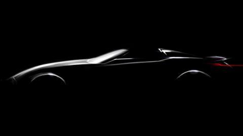 BMW roadster Pebble Beach teaser