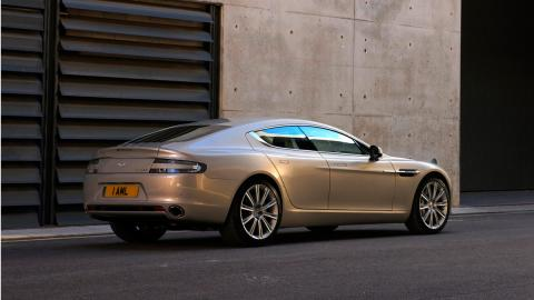 Coches familiares que mejor suenan: Aston Martin Rapide
