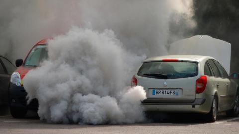 Contaminación humo avería Renault Laguna diésel