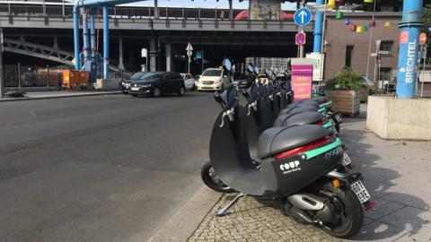 Las COUP se pueden aparcar en cualquier sitio
