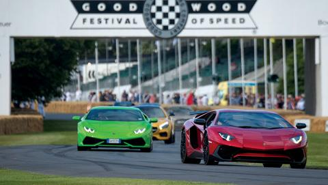 Los hipercoches del GoodWood Festoval of Speed
