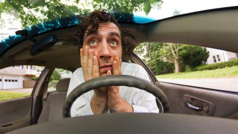 Insomnio en el coche
