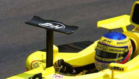 Jordan EJ11 Mónaco 2001 Heinz