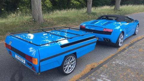 Lamborghini remolque