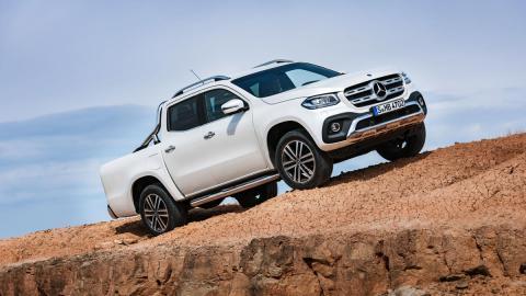 Mercedes Clase X pick-up pickup lujo SUV
