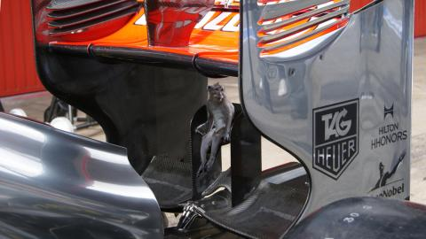 Monkey seat McLaren F1