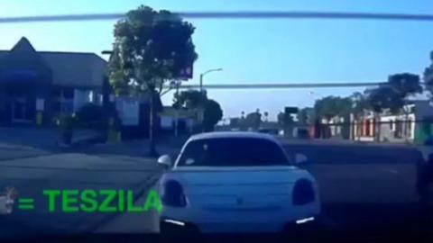 Porsche Cayman accidente
