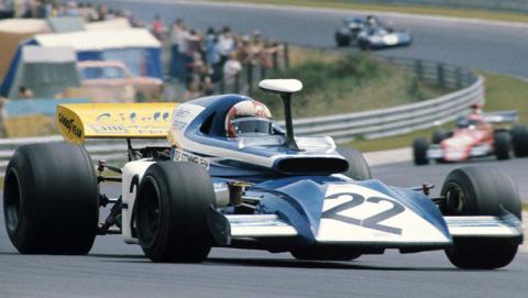 Rolf Stommelen in the Eifelland-Ford 21, Nürburgring 1972