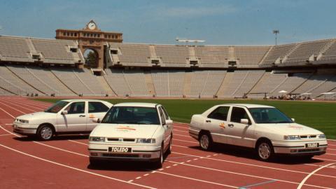 Seat en las Olimpiadas de Barcelona 92 (I)