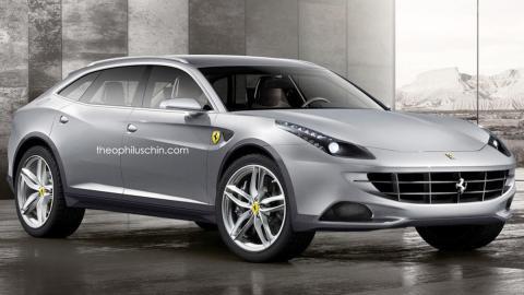 ¿Un SUV de Ferrari?