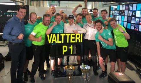 """Valtteri Bottas: """"apretaré para luchar por el título"""""""