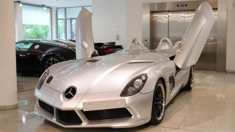 Se vende un Mercedes SLR Stirling Moss