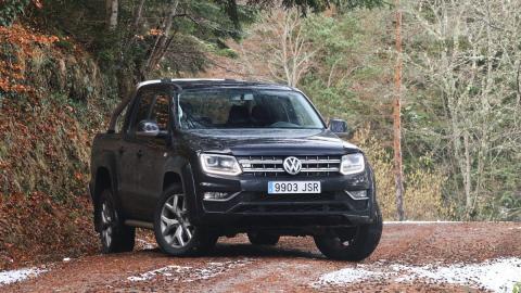 Volkswagen Amarok pick-up lujo premium todoterreno off-road