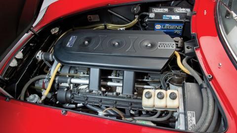 1967 Ferrari 275 GTB4  N.A.R.T. Spider engine