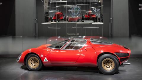 50º aniversario Alfa Romeo 33 Stradale (I)