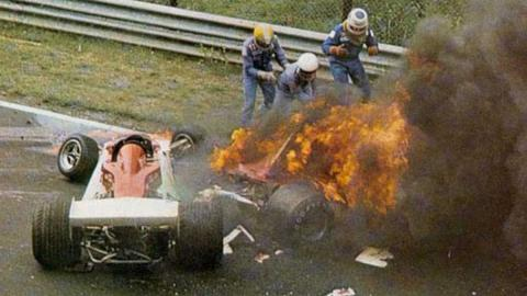 El accidente de Niki Lauda 1976