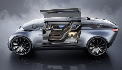 Audi E-Tron Imperator Concept