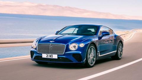 Bentley Continental GT 2018 coupé deportivo lujo