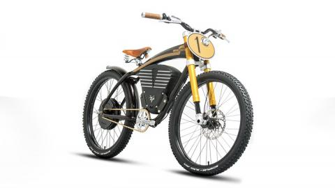 Bicicleta eléctrica Scrambler