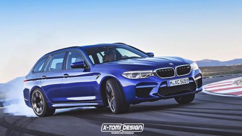 BMW M5 Touring 2017