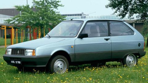 Citroën Axel desconocido utilitario rumania