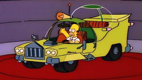 El coche diseñado por Homer Simpson