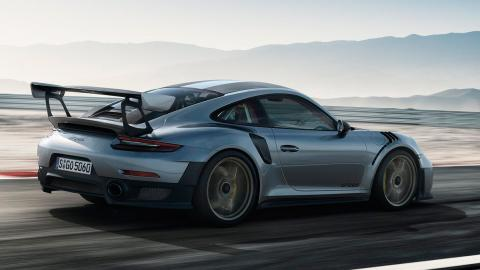 Coches para viajar despacito: Porsche 911 GT2 RS (II)