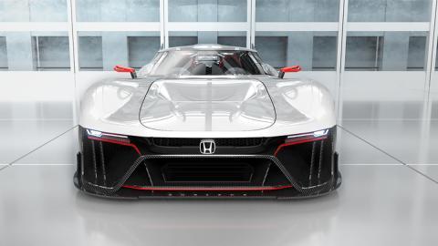 Espectacular el superdeportivo onírico Honda Invisus