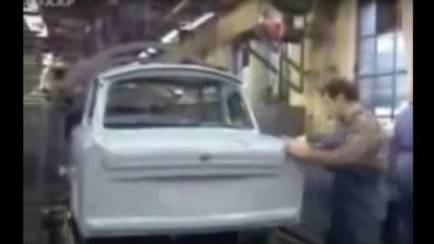 Fabricación Trabant