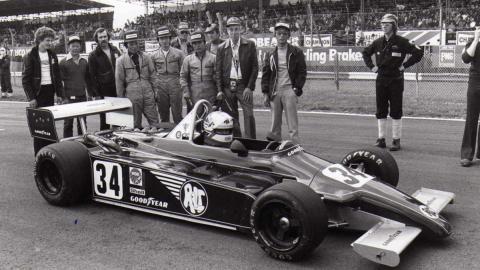 Mansell 1980 Silverstone F2