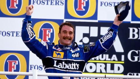 Mansell, se coronó en 1992