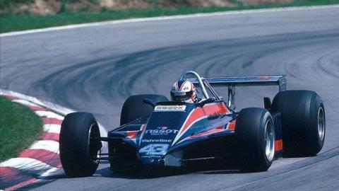 Mansell Lotus 1980