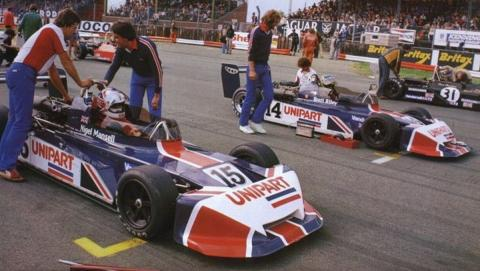 Nigel Masell March 1979
