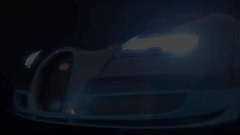Replica a escala 1:8 de un Bugatti